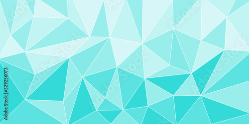 Vászonkép 幾何学 水 氷 背景