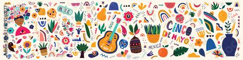 Foto Mexico illustration