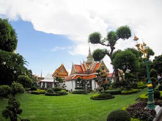 ヤクシャ像 ワット・アルン タイ バンコク Wat Arun