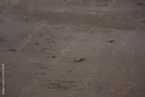 Photo Aerial View Of Desert