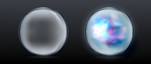 Magical Crystal Orbs. Glowing ...