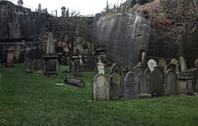A Old And Beautiful Cemetery England Uk Liverpool
