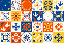 Mexican Talavera Pattern. Cera...