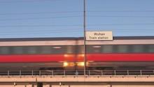 Wuhan Railway Billboard Train ...