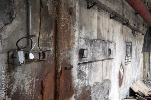 Obraz Opuszczony budynek do remontu - fototapety do salonu