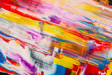 Abstract Background. Oil Acryl...