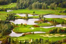Beautiful Golf Course, Landscape, Poland
