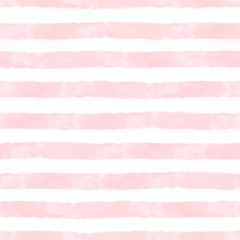 Vector Watercolor Stripes Pink...