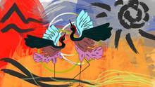 Dancing Storks 11