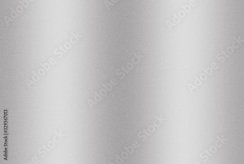 Fotomural Silver metal plate or aluminium or stainless steel texture background for design