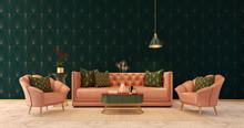 Classic Interior Art Deco Styl...