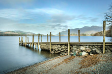 A View Of Ashness Jetty And La...