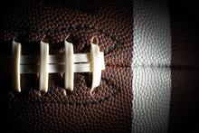 Close-up Of An American Footba...