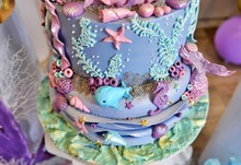 Baby Girl Genuine Birthday Cak...