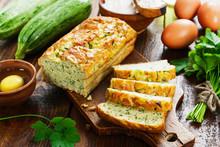 Unsweetened Zucchini Cake