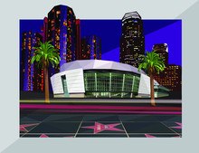 Downtown Los Angeles City Buil...
