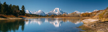 Oxbow Bend Viewpoint On Panora...