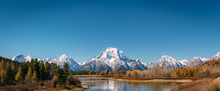 Oxbow Bend Viewpoint On Mt. Mo...