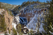 Gibbon Falls, Yellowstone, Wyo...