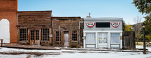 Ghost Town Virginia City Historic District Designated In 1961 After Charles And Sue Bovey Restored Old Ruins, In Montana, USA