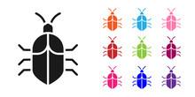 Black System Bug Concept Icon ...