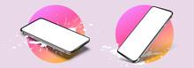 Smartphone Frame Less Blank Sc...