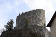 La Tour Des Comtes De Genêve Construite Au 11 ème Siècle à La Roche Sur Foron - Ville La Roche Sur Foron - Département Haute Savoie - France - Vue De L'extérieur