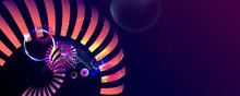 Multicolored Space Bubbles 3d ...