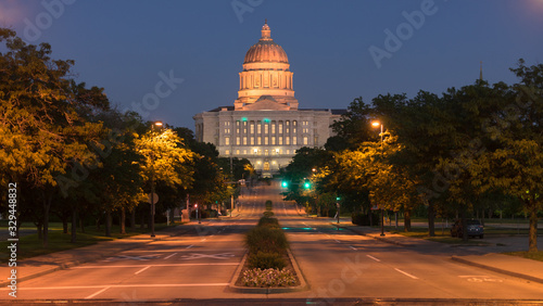Foto Street View Jefferson City Missouri State Capital Building