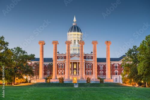 Fototapeta Columbia, Missouri, USA historic campus obraz
