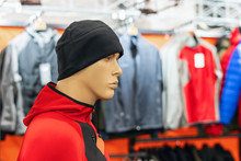 Mannequin In A Hat In A Sports...
