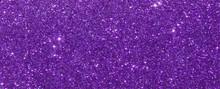 Violet Glitter Sparkle Texture...
