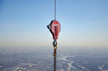 Hook From A Tower Crane For Li...
