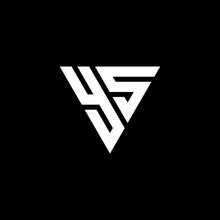 YS Logo Letter Monogram With T...