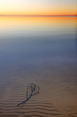 Panel Szklany Wschód / zachód słońca Lake Vänern at sunrise. Sweden