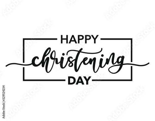 Photo Happy Christening Day
