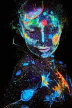UV Painting Of A Universe On A...
