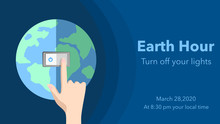 Earth Hour On March 28, 2020 ....