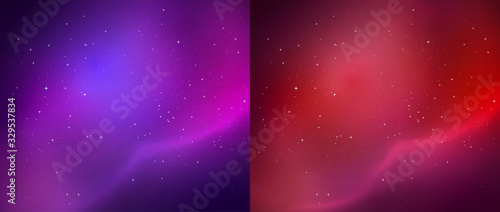 Photo Outer space vector backgrounds