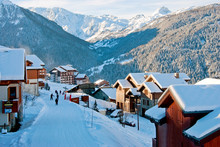 Peisey-Vallandry, Les Arcs, Savoie, French Alps, France