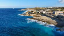 Wild Ocean Water From Above - ...