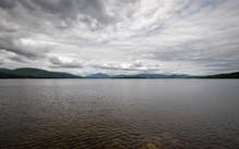 Loch Lomond, Scotland. A Wide ...