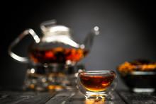 Horizontal Photo Of The Tea Se...