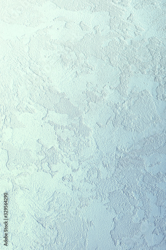 Photo decorative stucco background, vertical banner, copy space