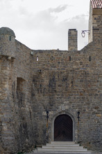 Old Fortress Of Budva. Old Small Castle Gate