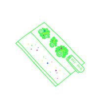 Vector Illustration Of Marijuana On Rolling Paper Isolated On White Background.