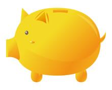 豚 ぶたの貯金箱 貯...