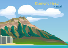 Diamond Head Crater On The Haw...