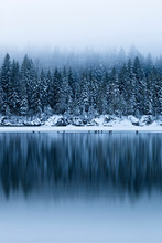 Winter At Fusine Lakes, Tarvis...