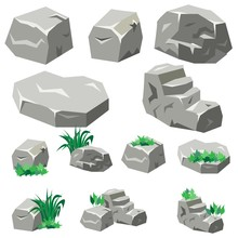 Rock And Stone Set For Garden ...